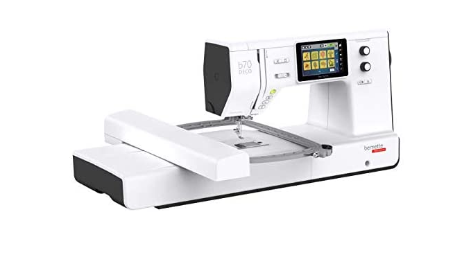 Bernette 70 Deco - Top Of The Line Embroidery Machine