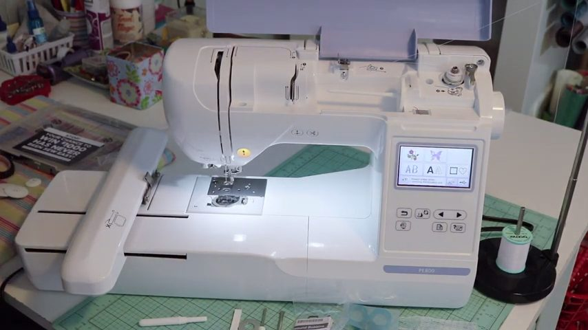 Best Brother PE800 Embroidery Machine