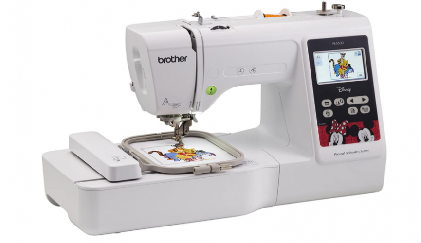 Brother PE550D - Best Value Embroidery Machine