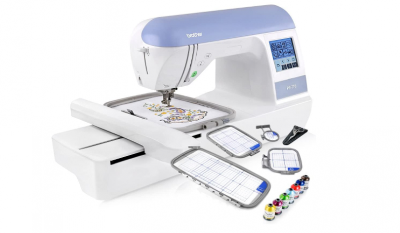 Brother PE770 - Best Starter Embroidery Machine