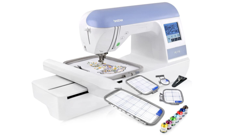 Brother PE770 - Top Rated Embroidery Machine