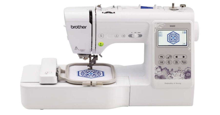 Brother SE600 - Heavy Duty Embroidery Machine