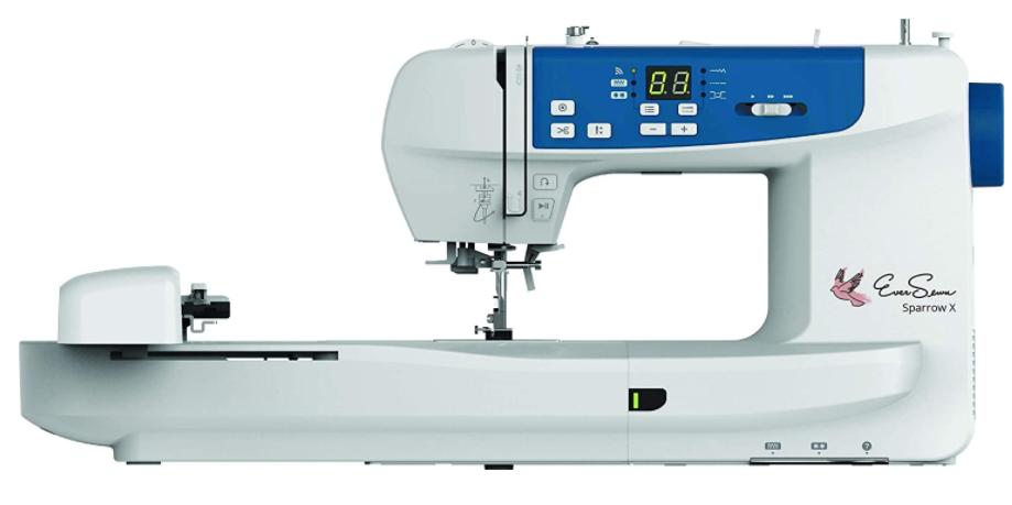 EverSewn Sparrow X Next-Generation - Best Budget Embroidery Machine