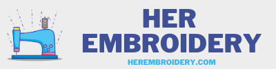 Her Embroidery Logo