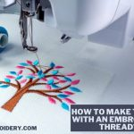 How to Make Tassel with an Embroidery Thread