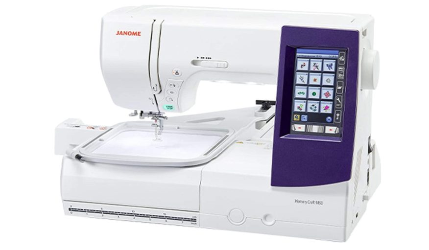 Janome Horizon Memory Craft 9850 - Best Affordable Embroidery Machine