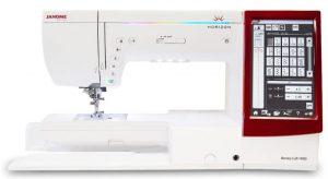 Janome Memory Craft 14000 Machine