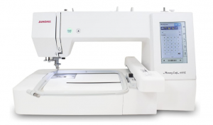 Janome Memory Craft 400E - Easy To Use Embroidery Machine