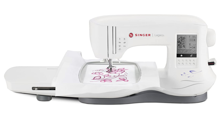 SINGER Legacy SE300 - Best Budget Embroidery Machine